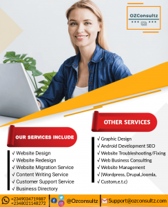 Ozconsultz - Affordable Website Design Agency